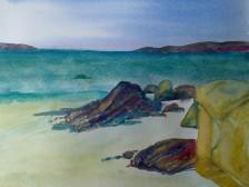 Connemara Beach by Andrea Connolly