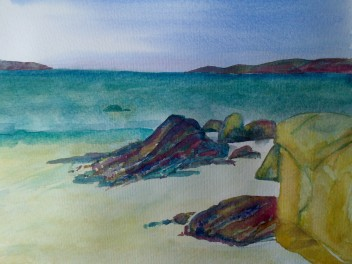 Connemara Beach by Andrea Connolly