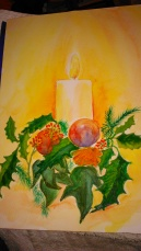 advent candle