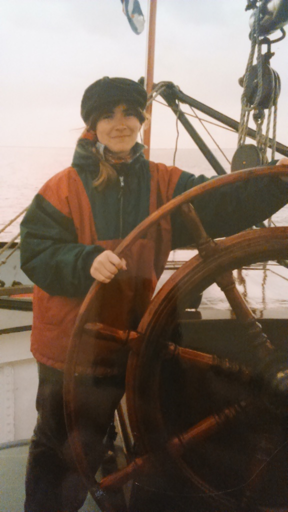Once I steered a ship...