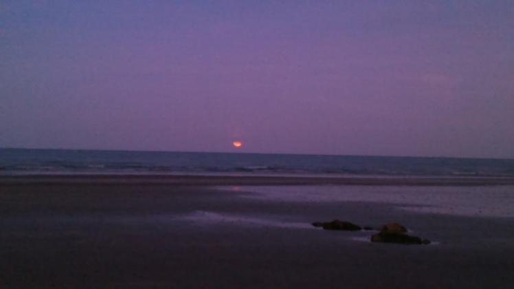 Blood Moon Beach